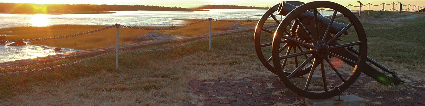 Canon at Fort Sumter
